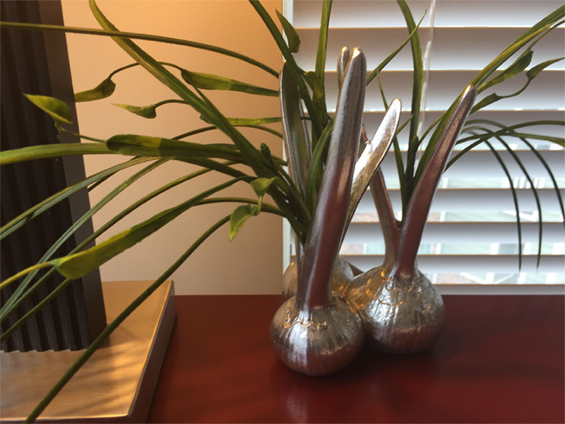 Detailed view of a fully furnished unit